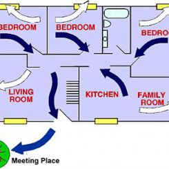 Practice an escape plan from every room in the house.